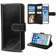 *SALE* Mybat D'Lux Genuine Leather Wallet Case for iPhone 6 / 6S - Black