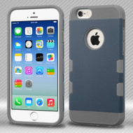TUFF Trooper Dual Layer Hybrid Case for iPhone 6 - Ink Blue Grey