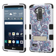 Military Grade Certified TUFF Image Hybrid Kickstand Case for LG G Stylo / Vista 2 - Persian Paisley