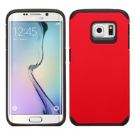 Hybrid Multi-Layer Armor Case for Samsung Galaxy S6 Edge Plus - Red