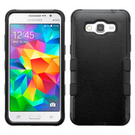 Military Grade Certified TUFF Hybrid Case for Samsung Galaxy Grand Prime - Black