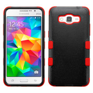 *Sale* Military Grade TUFF Hybrid Case for Samsung Galaxy Grand Prime - Black Red
