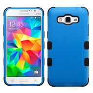 Military Grade Certified TUFF Hybrid Case for Samsung Galaxy Grand Prime - Blue