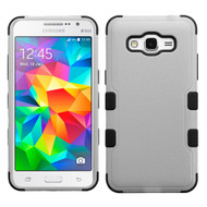 Military Grade TUFF Hybrid Case for Samsung Galaxy Grand Prime - Grey