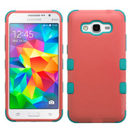 Military Grade Certified TUFF Hybrid Case for Samsung Galaxy Grand Prime - Pink Teal