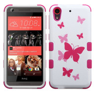 Military Grade Certified TUFF Image Hybrid Case for HTC Desire 650 / 626 / 555 / 550 / 530 - Butterfly Dancing