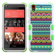 Military Grade TUFF Image Hybrid Case for HTC Desire 650 / 626 / 555 / 550 / 530 - Tribal Sun