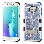 *Sale* Military Grade TUFF Image Hybrid Kickstand Case for Samsung Galaxy S6 Edge Plus - Persian Paisley