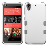 *Sale* Military Grade TUFF Hybrid Case for HTC Desire 650 / 626 / 555 / 550 / 530 - White Grey