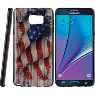 Graphic Rubberized Protective Gel Case for Samsung Galaxy Note 5 - Glory USA