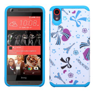 Hybrid Multi-Layer Armor Case for HTC Desire 650 / 626 / 555 / 550 / 530 - Eiffel Towers