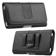Leather Magnetic Holster Protective Pouch Case - Black