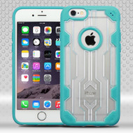 Challenger Transparent Hybrid Case for iPhone 6 Plus / 6S Plus - Teal
