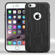 Challenger Hybrid Case for iPhone 6 Plus / 6S Plus - Black
