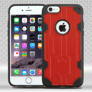 Challenger Hybrid Case for iPhone 6 Plus / 6S Plus - Red