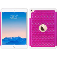 *SALE* TotalDefense Diamond Hybrid Case for iPad Mini 4 - Hot Pink White