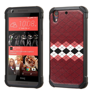Tough Anti-Shock Hybrid Case for HTC Desire 650 / 626 / 555 / 550 / 530 - Modern Argyle