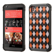 Tough Anti-Shock Hybrid Case for HTC Desire 650 / 626 / 555 / 550 / 530 - Classic Argyle