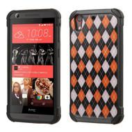 Tough Anti-Shock Hybrid Case for HTC Desire 650 / 626 / 555 / 550 / 530 - Classic Argyle