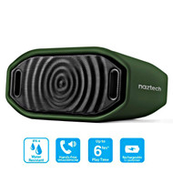 *SALE* Naztech Hypnotic Water Resistant Bluetooth Wireless Speaker - Green