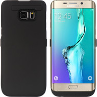 *SALE* Power Bank Battery Case with Kickstand 5200mAh for Samsung Galaxy S6 Edge Plus - Black
