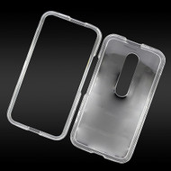 *Sale* Snap-On Protective Crystal Case for Motorola Moto G 3rd Generation - Clear