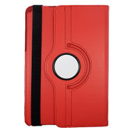 Rotating Leather Hybrid Case for Samsung Galaxy Tab A 8.0 - Red