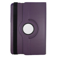 Rotating Leather Hybrid Case for Samsung Galaxy Tab A 8.0 - Purple
