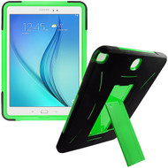 Explorer Impact Armor Kickstand Hybrid Case for Samsung Galaxy Tab A 9.7 - Black Green