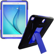 Explorer Impact Armor Kickstand Hybrid Case for Samsung Galaxy Tab A 9.7 - Black Blue