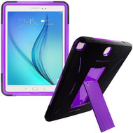 *Sale* Explorer Impact Armor Kickstand Hybrid Case for Samsung Galaxy Tab A 9.7 - Black Purple