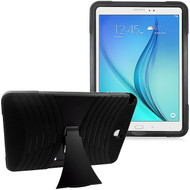 Shockproof Armor Kickstand Case for Samsung Galaxy Tab A 9.7 - Black