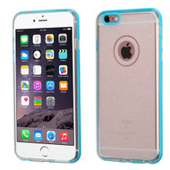 BumperShield Protective Case for iPhone 6 Plus / 6S Plus - Glitter Baby Blue