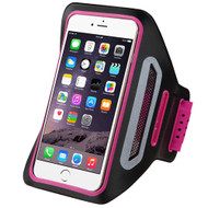 Multi-Functional Sport Neoprene Armband - Hot Pink