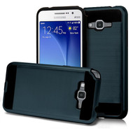 Brushed Hybrid Armor Case for Samsung Galaxy Grand Prime - Ink Blue