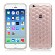 Honeycomb Premium Transparent Cushion Case for iPhone 6 / 6S - Clear