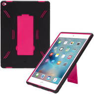 *Sale* Explorer Impact Hybrid Armor Kickstand Case for iPad Pro 12.9 inch - Black Hot Pink