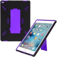 *Sale* Explorer Impact Hybrid Armor Kickstand Case for iPad Pro 12.9 inch - Black Purple