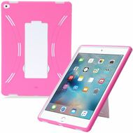 *Sale* Explorer Impact Hybrid Armor Kickstand Case for iPad Pro 12.9 inch - Hot Pink White