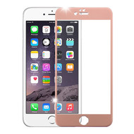 Premium Round Edge Tempered Glass Screen Protector for iPhone 6 Plus / 6S Plus - Rose Gold