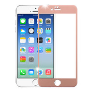 Premium Round Edge Tempered Glass Screen Protector for iPhone 6 / 6S - Rose Gold