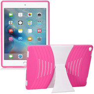 *Sale* Shockproof Hybrid Armor Kickstand Case for iPad Pro 12.9 inch - Hot Pink White