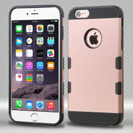 Military Grade Certified Military Grade TUFF Trooper Dual Layer Hybrid Case for iPhone 6 Plus / 6S Plus - Rose Gold