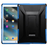 Tough Armor Hybrid Kickstand Case for iPad Pro 12.9 inch - Black Blue