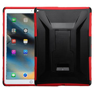 Tough Armor Hybrid Kickstand Case for iPad Pro 12.9 inch - Black Red