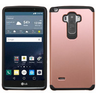 Hybrid Multi-Layer Armor Case for LG G Stylo / Vista 2 - Rose Gold