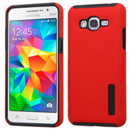 Pro Shield Hybrid Armor Case for Samsung Galaxy Grand Prime - Red