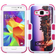 Military Grade Certified TUFF Image Hybrid Case for Samsung Galaxy Core Prime / Prevail LTE - San Francisco