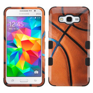 Military Grade TUFF Image Hybrid Case for Samsung Galaxy Grand Prime - Basketball