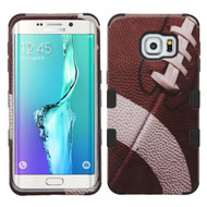 Military Grade Certified TUFF Image Hybrid Case for Samsung Galaxy S6 Edge Plus - Football